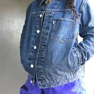 Small/LEVIS line 8 sample sale denim jacket